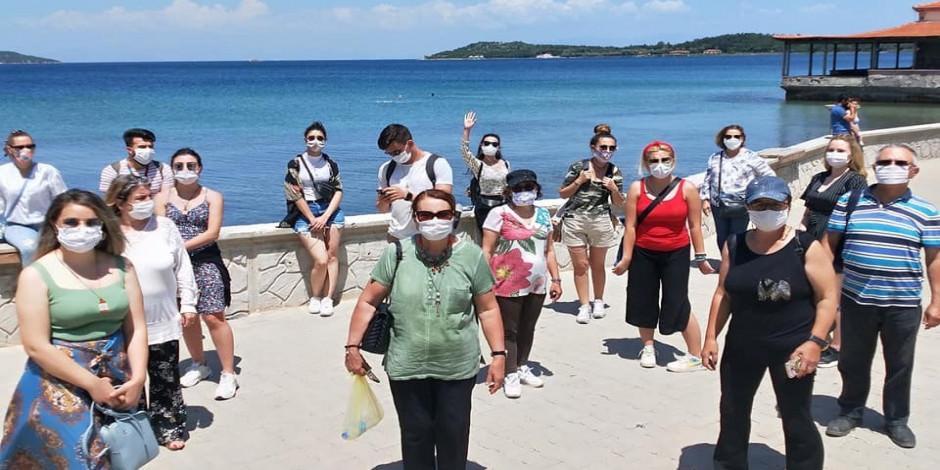 """Turizmde """"sosyal mesafeli"""" turlar başladı"""