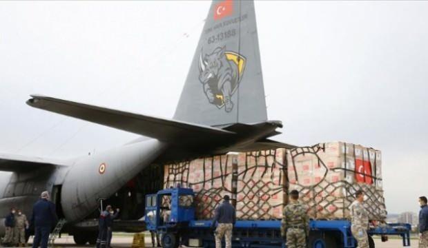 Türkiye yardım isteyen 125 ülkenin talebini karşıladı