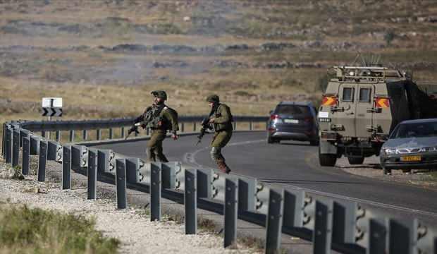 İsrail askerleri Batı Şeria'da 10 Filistinliyi yaraladı