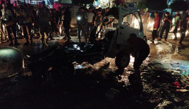 Afrin'de bomba yüklü araç patladı: 4 yaralı
