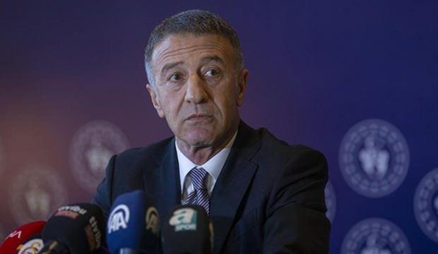 """Ahmet Ağaoğlu: """"Trabzonspor'umuzu zirveye taşıyacağımız nice senelere"""""""