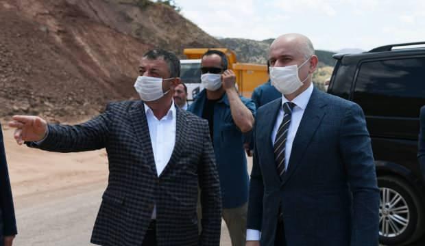 Bakan Karaismailoğlu, Siirt'te ulaşım yatırımlarını inceledi