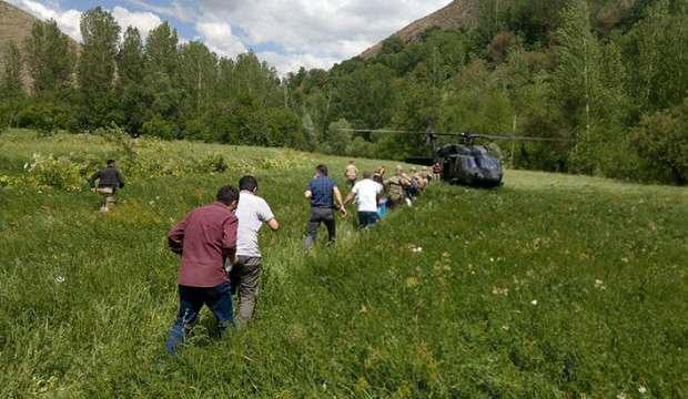 Bakan paylaştı! Sınava helikopterle gittiler