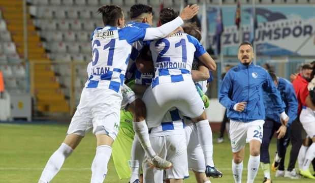 Erzurumspor Süper Lig için 90+6'da güldü
