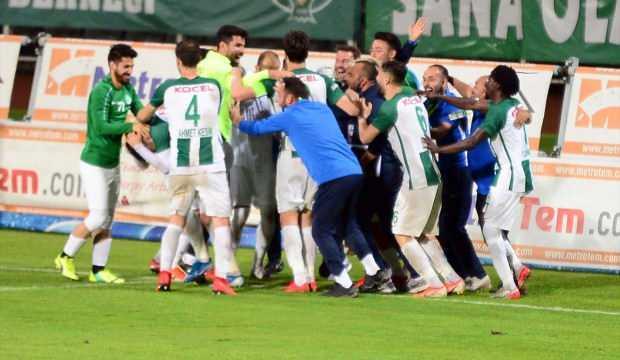 Giresunspor play-off aşkına kazandı!