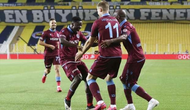 Kupada ilk finalist Trabzonspor!