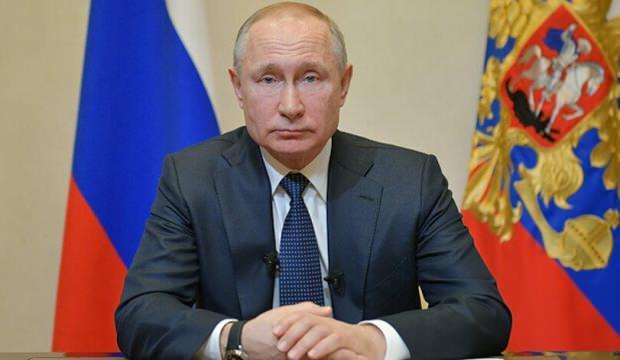 Putin, koronavirüse karşı dezenfeksiyon tüneli kuruyor