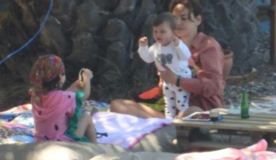 Seda Bakan ailesiyle kamp yapıyor! İşte ilk görüntüler