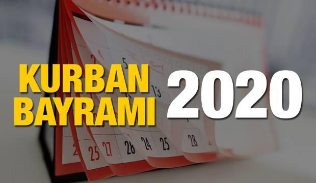 2020 Kurban bayramı ne zaman? Kurban Bayramı ve Arefe günü başlangıç ve bitiş tarihleri!