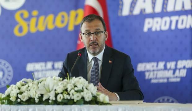 Bakan Kasapoğlu: Bugün Sinop'umuz için önemli yatırımları imzalayacağız