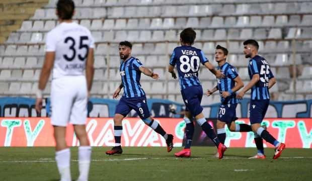 Adana Demirspor 10 kişiyle 3 puanı kaptı
