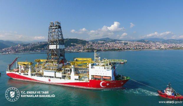 Bakan Dönmez duyurdu: Fatih sondaj gemisi Tuna-1'e doğru harekete geçti