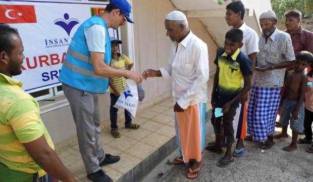 İnsan Vakfı kurban bağışlarını ihtiyaç sahiplerine ulaştırıyor