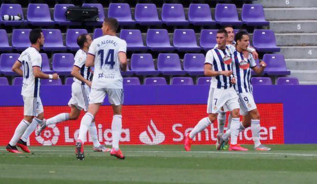 Enes Ünal'ın golü Valladolid'e 1 puan getirdi