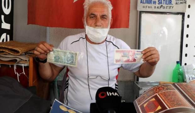 Eski paraların değeri dudak uçuklatıyor! D serili 500 TL'ler 5 bin TL'ye satılıyor