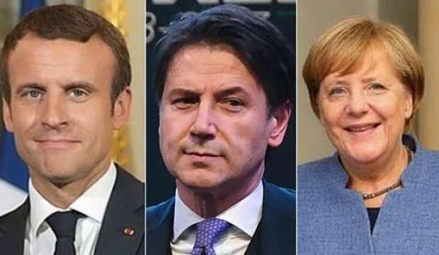Gece yarısı duyurdular! Fransa, Almanya ve İtalya'dan ortak Libya açıklaması