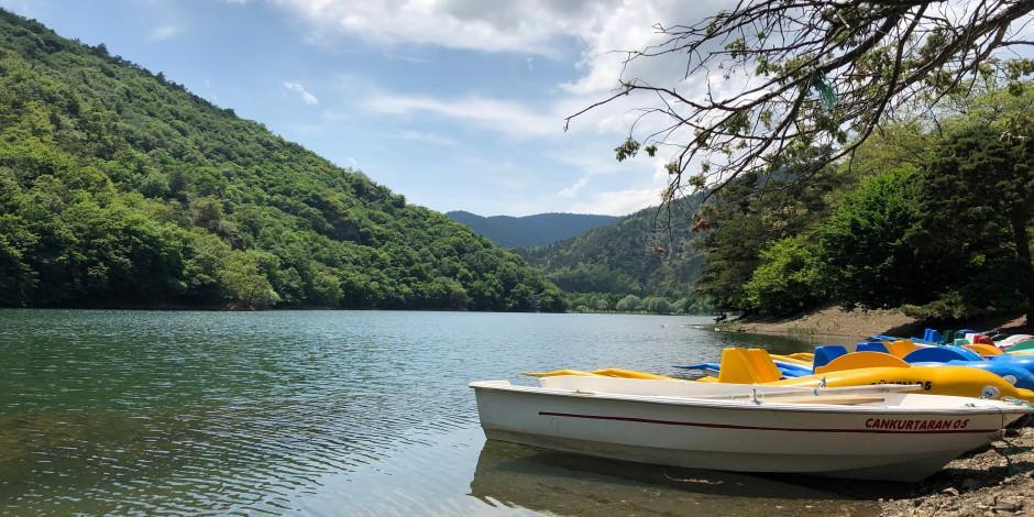 Sessiz, sakin ve doğa içinde: Boraboy Gölü kamp alanı