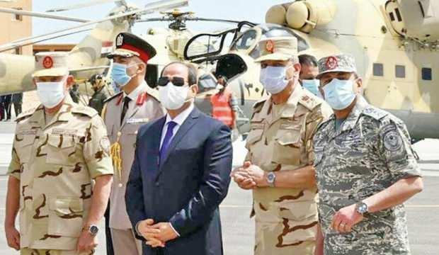 Sisi'nin hamlesi balon çıktı: Hemen geri çekti!