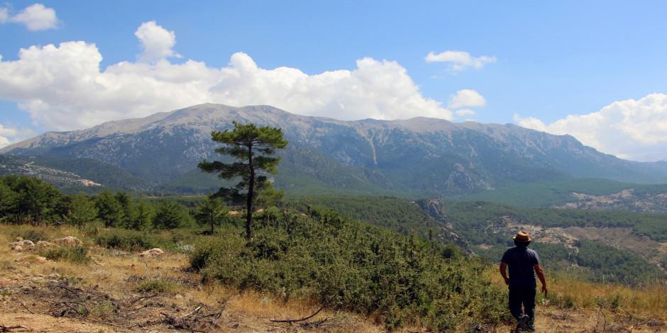 Termessos Antik Kenti'nde 2300 yıllık ünlü dağ bulundu