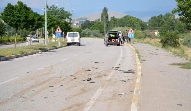 Tokat'ta hafif ticari araçlar çarpıştı: 5 yaralı