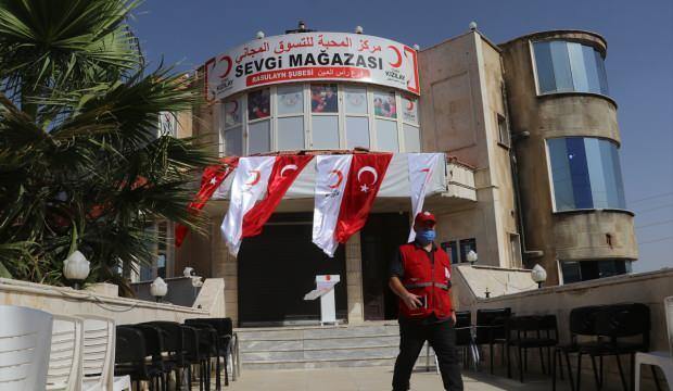 Türk Kızılay'ı Rasulayn'a 'Sevgi Mağazası' açtı