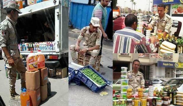 Türkiye'nin karşısına çıkartmayı planladığı ordu pazarda salatalık satıyor