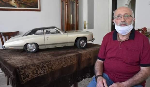 Tutkunu olduğu otomobili tam 36 yılda yaptı