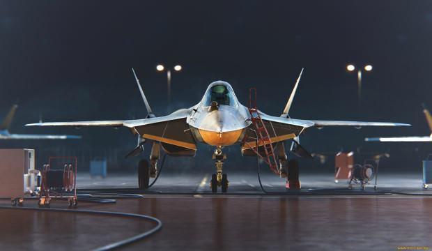 Ve Su-57 Suriye'ye yeniden teker koydu