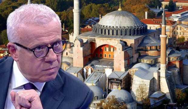Ertuğrul Özkök'ten sinsi Ayasofya yazısı!