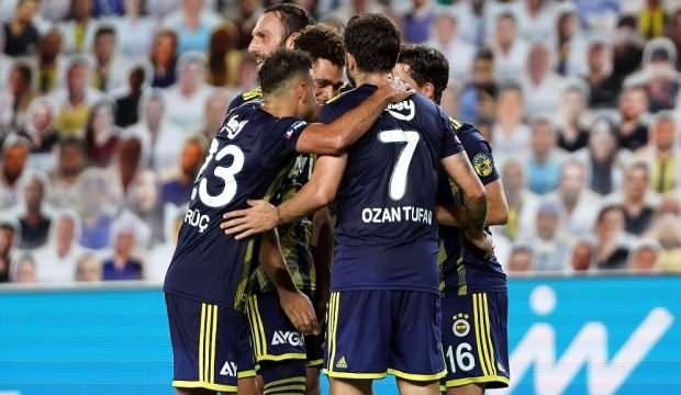 Fenerbahçe Kadıköy'de seri başlattı!