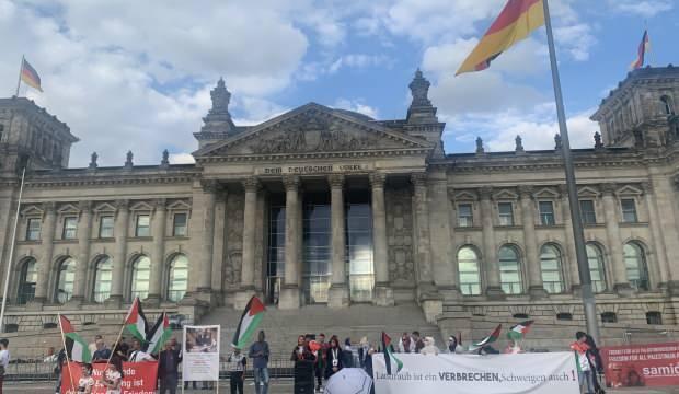 Almanya'da İsrail'in 'ilhak' planı protesto edildi