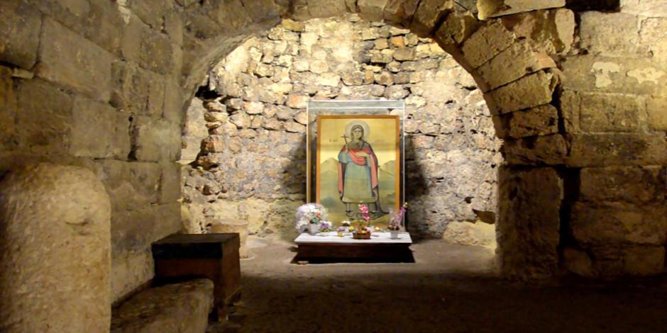 Azize Aya Tekla ören yeri turizme kazandırılmayı bekliyor