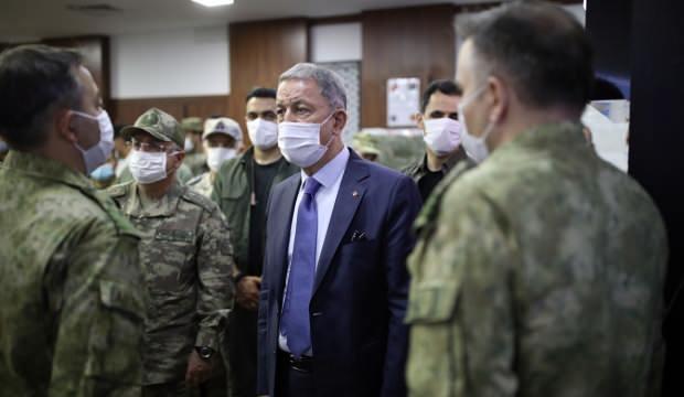 Bakan Akar'dan Libya'da düşmanı titreten sözler!