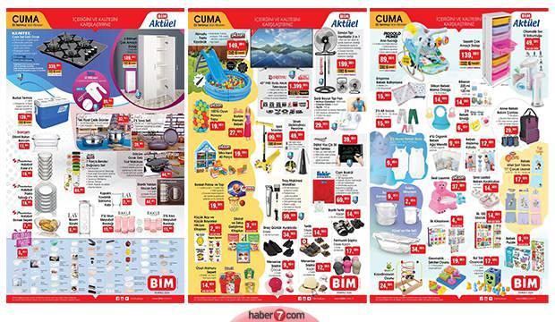 BİM 3 Temmuz aktüel kataloğu! Elektronik, mobilya, tekstil ve bebek ürünlerinde...
