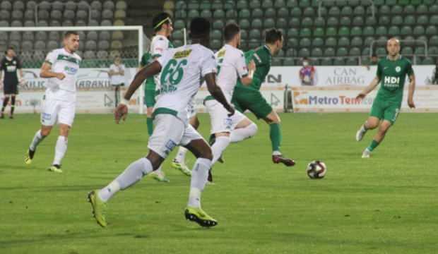 Bursaspor 3 puanla döndü