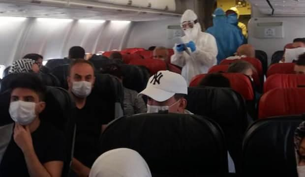 Diyarbakır-Ankara uçağında koronavirüs paniği