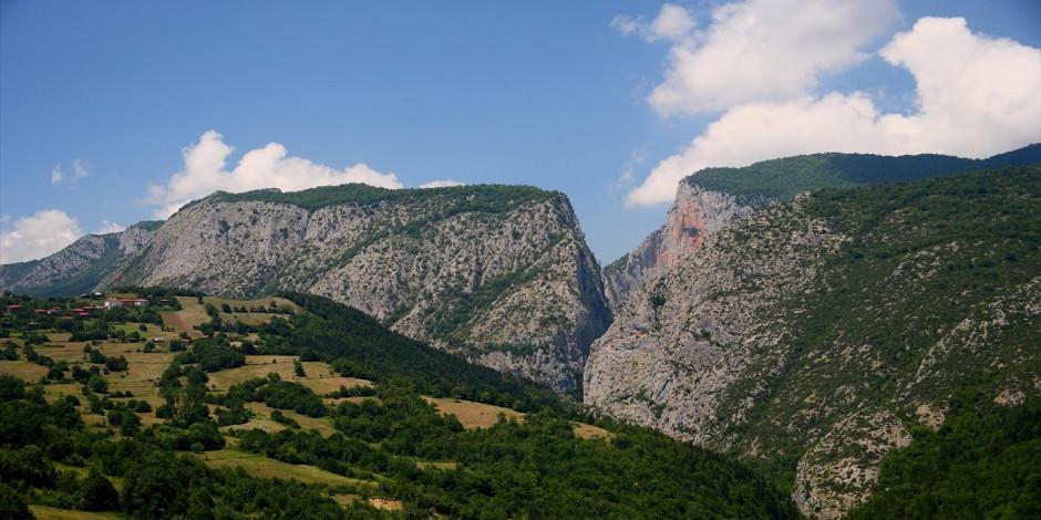 Dünyanın en derin ikinci kanyonu: Kastamonu Valla Kanyonu