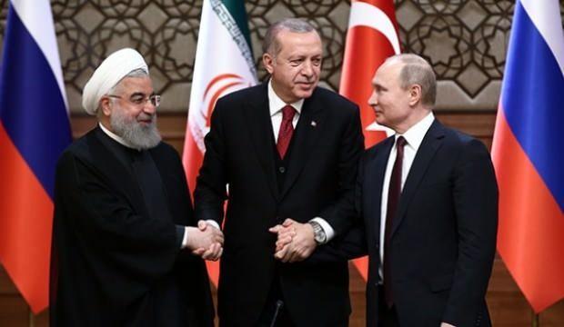 Erdoğan, Putin ve Ruhani ile görüşecek!