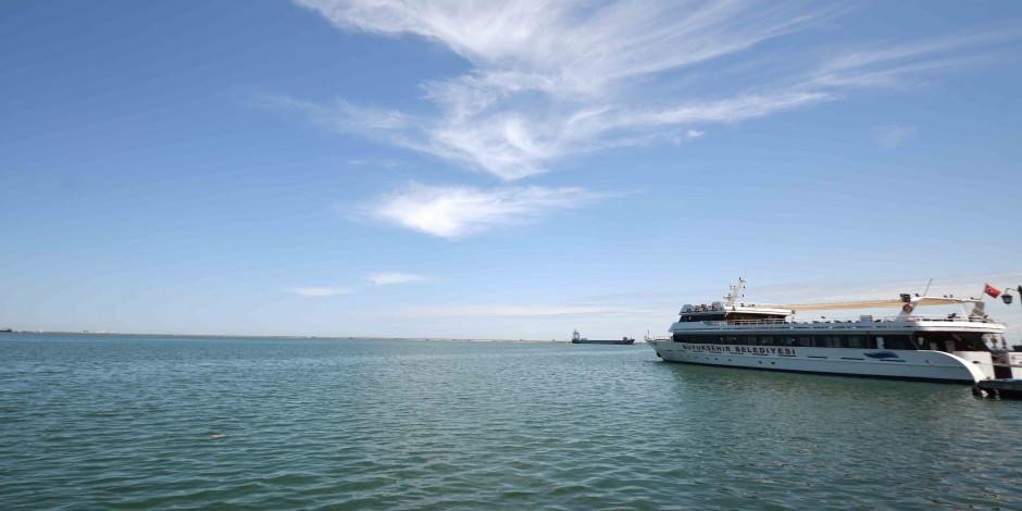 Gemiler gezi turlarına başladı