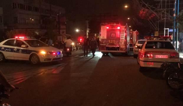 İran'ın başkenti Tahran'da büyük patlama!