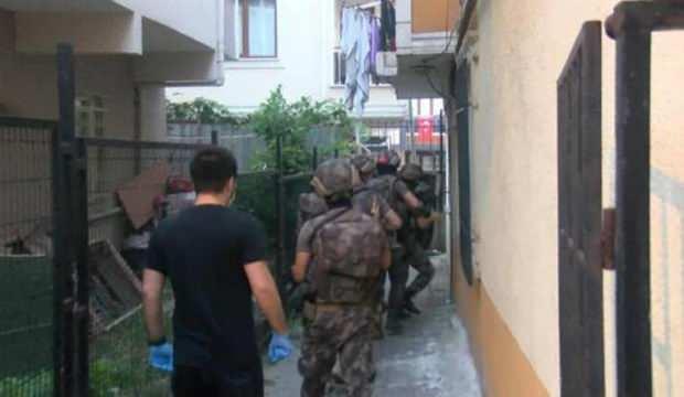 İstanbul'da  dev operason: Çok sayıda şüpheli gözaltında