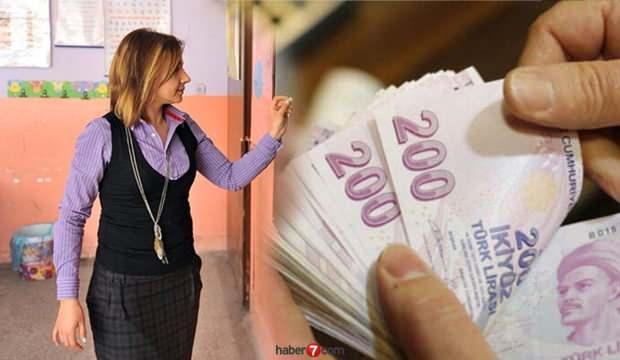 Kadrolu ve Sözleşmeli Öğretmen 2020 Temmuz maaş zammı belli oldu! Öğretmen zamlı maaşı kaç TL?