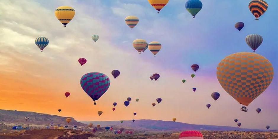 Kapadokya'da sıcak hava balonu turları ertelendi