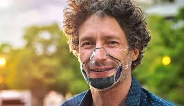 Kendi kendine temizleyen şeffaf maske üretildi