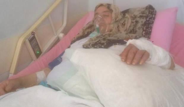 Köpeklerin saldırısında yaralanan kadın tehlikeyi atlatamadı