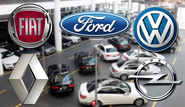 Sıfır araç zamlı fiyatları! 2020 Temmuz ayı Fiat Volkswagen Renault araba fiyatları