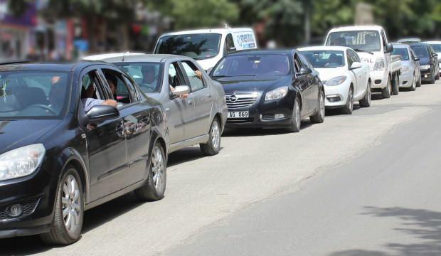 Trafiğe kaydı yapılan taşıtlar aylık yüzde 29.6 arttı