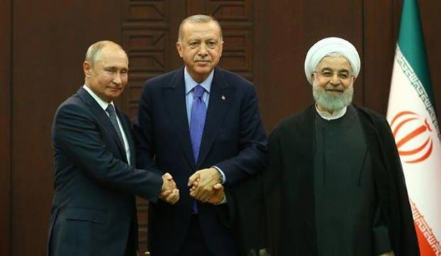 Türkiye-Rusya-İran arasında ortak zirve