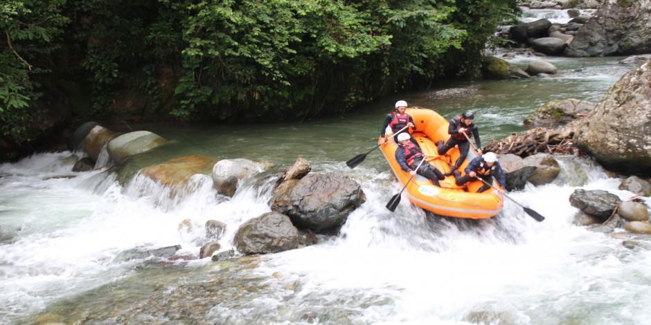 Türkiye'nin en yeni rafting parkuru: Tunca Vadisi