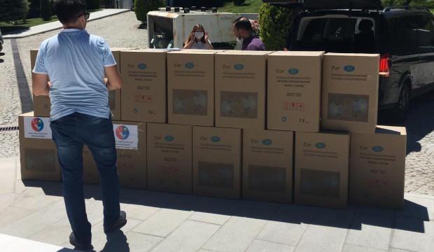 Hoca Ahmet Yesevi Kazak-Türk Üniversitesi mezunlarından Türkistan'a yardım